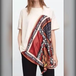 NEW Zara Love is the Answer Top Blouse